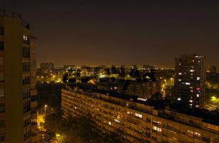 Zagreb Nachtaufnahme