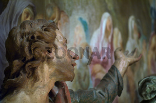 Der Jünger Johannes, The disciple John, Sacro Monte di Varese