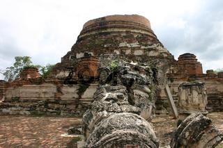 Khmer Ruine in Ayutthaya