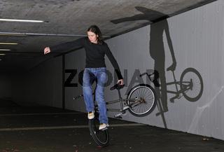 Monika Hinz, BMX Flatland