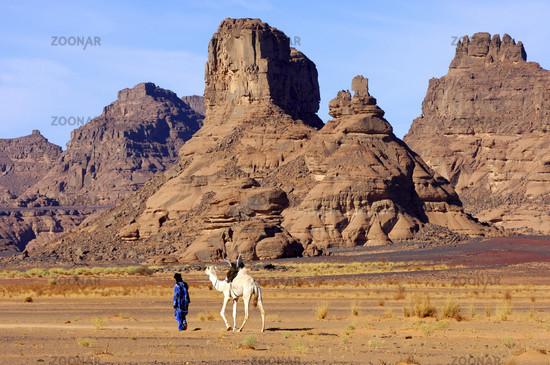 Tuareg nomad, Acacus
