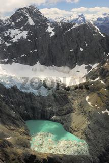 Gletscher mit Gletschersee