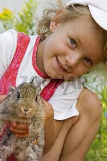 Kleiner Hase schau