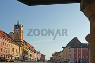 Marktplatz von Cheb (Eger)