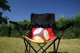 Fußball auf Deutschlandstuhl