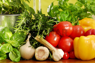 Italienische Küche, Italian cooking