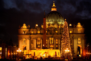 Weihnacht am Petersdom