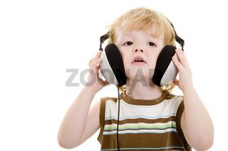Zu große Kopfhörer