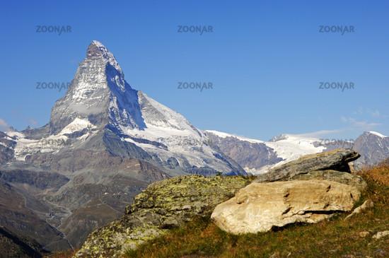 Summit of the Matterhorn, Zermatt, Valais, Switzerland