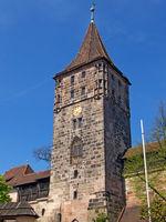 Burgturm der Kaiserburg in Nürnberg - Tower from Castle of Nuremberg