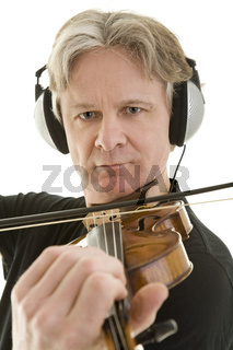 Violinenaufnahme