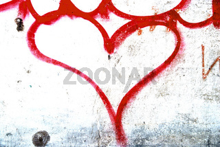 Herz Graffitti
