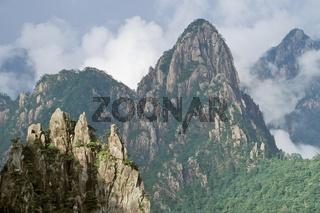 Yellow mountain, China, gelbe berge chinas, mountains