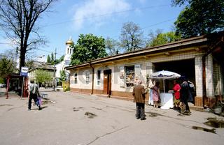 Ukraine, Odessa, people on street