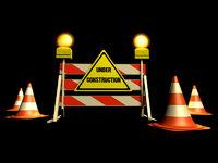Baustelle - Under construction