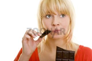 Schokolade testen