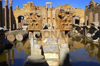 Römische Ruinen, Libyen