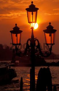 Venedig, Sonnenaufgang