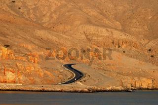 Küstenstrasse am Persischen Golf , Musandam