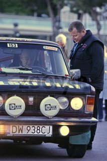 Rallye Monte-Carlo Historique, Arrival