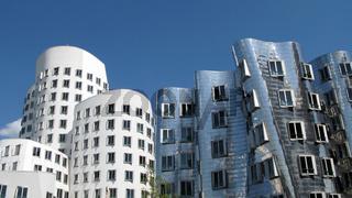 Gehry-Bauten in Dusseldorf