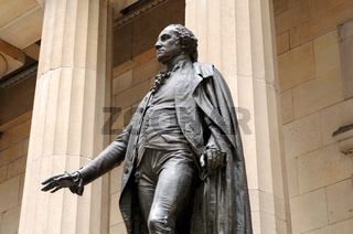 George Washington Statue, New York, USA