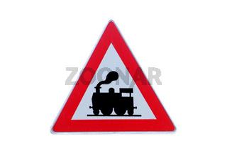 Verkehrsschild Achtung Zug | traffic sign attention train