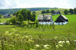 Kammhäuser, Seiffen Erzgebirge Deutschland