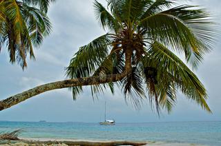 Sailing in San Blas, Panama