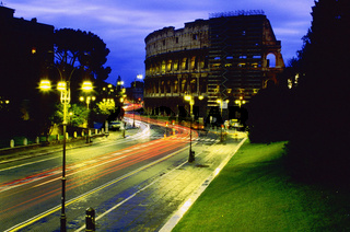 Colosseum (Coloseum) at night Rome, Colosseum, Rome