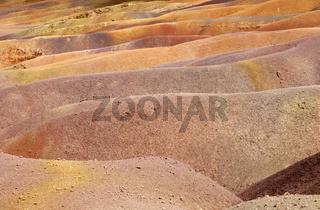Farbige Erde