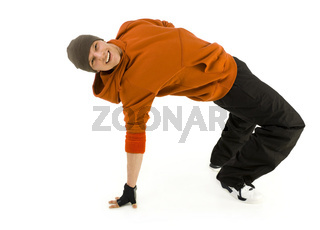 Breakdance make me happy