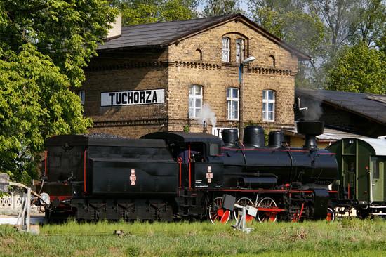Steamlocomotive in Poland