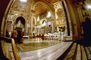 San Giovanni Laterano basilica Saint John on Lateran basilique Rome Italy, Basilica of St. John Lateran, indoor