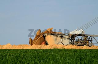 Schaufelradbagger / Brown coal open mining