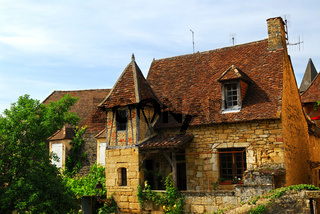 Medieval house in Sarlat, France