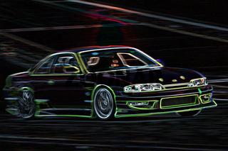 green night racing