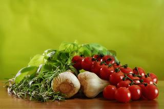 Frische italienische Zutaten, Fresh Ingredients