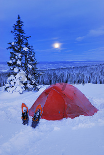 adventure holliday, abenteuerurlaub, freiland, outdoor, camping, winter, snow, schnee, moon, mond, laponian area, laponia, norrbotten, lapland, lappland, sweden, schweden, swedish lapland