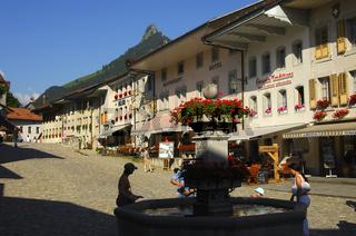 Im mittelalterlichen Käsestädtchen Gruyères