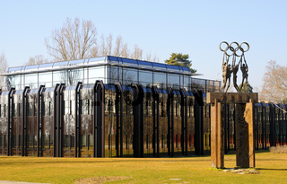 Sitz des Internationale Olympische Komitee (IOK)