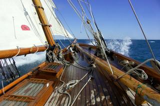 klassische yacht