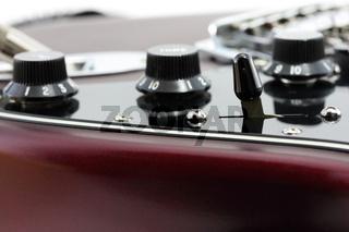 electric guitar detail