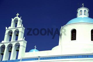Kirche in Oia. Santorini