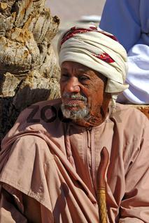 Porträt eines Omani Mann mit Bart, Oman