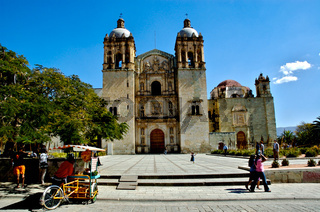 Church of Santo Domingo, Oaxaca in Mexico