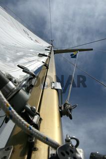 Der Mast - sail mast