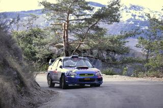 Rallye Monte-Carlo, French Alps