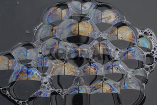 Seifenschaum,Seifenblasen,Seifenlamelle,Seifenmembran,Seifenfilm,soap bubble,Soap layer,Soap film,
