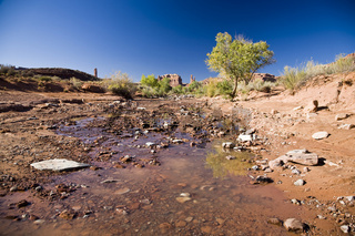 Brook in Valley of the gods